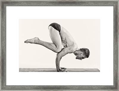 Yoga V Framed Print by Angelique Olin