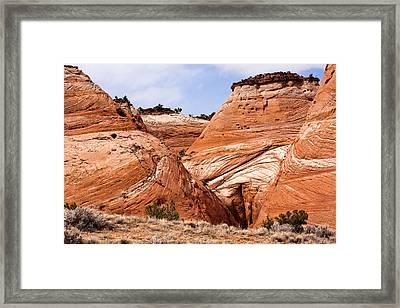 Yonic Utah Mountains Framed Print by Paul Madura