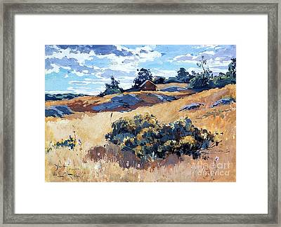 York - Maine Framed Print by Pg Reproductions