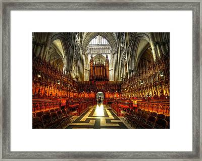 York Minster02 Framed Print by Svetlana Sewell