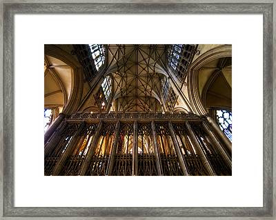 York Minster03 Framed Print by Svetlana Sewell