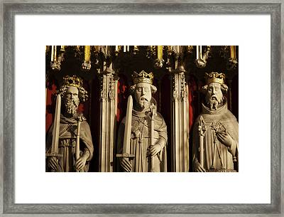 York Minster's Choir Screen Framed Print by Beth Riser