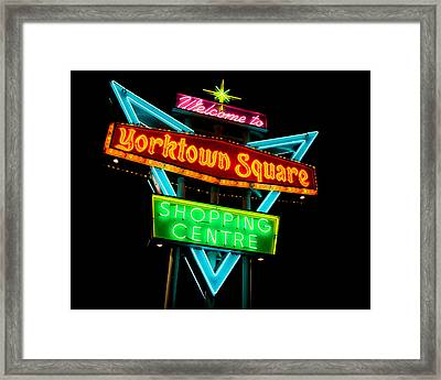 Yorktown Square Framed Print by Cale Best