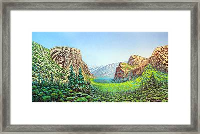 Yosemite Framed Print by David Linton
