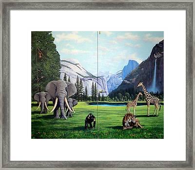 Yosemite Dreams Framed Print by Frank Wilson
