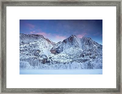 Yosemite Falls Framed Print by Jesse Estes
