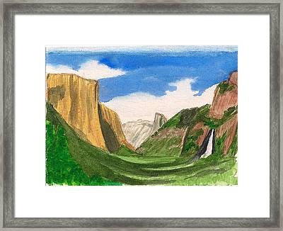 Yosemite Summer Framed Print by Dianne Lanning