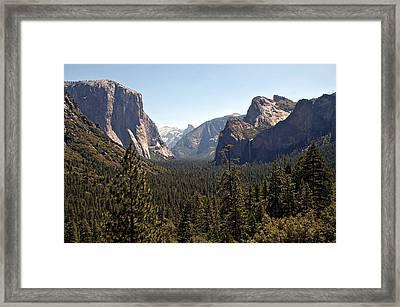 Yosemite Framed Print by Tina Karle