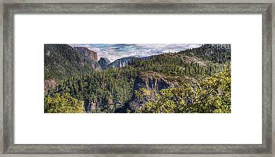 Yosemite Valley Framed Print by Stephen Campbell