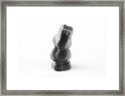 Yoshi Gummy Framed Print