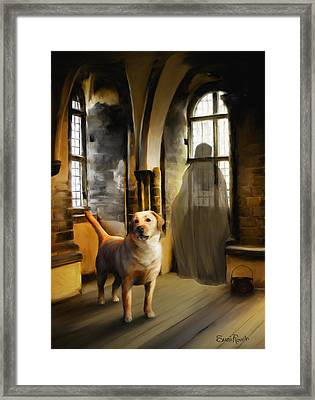 You Are Always Safe With Me Framed Print