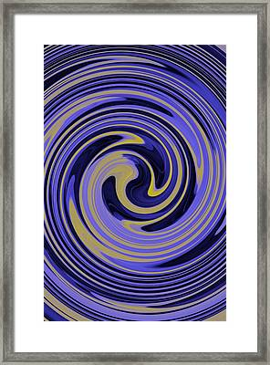 You Are Like A Hurricane Framed Print by Bill Cannon