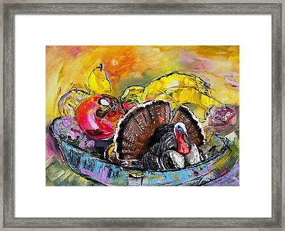 You Are My Dish Of The Day Framed Print by Miki De Goodaboom