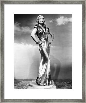 You Came Along, Lizabeth Scott, 1945 Framed Print by Everett