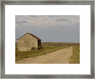 You Can It See From Here Framed Print by Odd Jeppesen