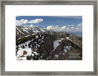 You Can See For Miles Framed Print