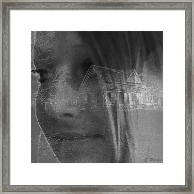 You Cant Go Home Again Framed Print by Leslie Revels Andrews