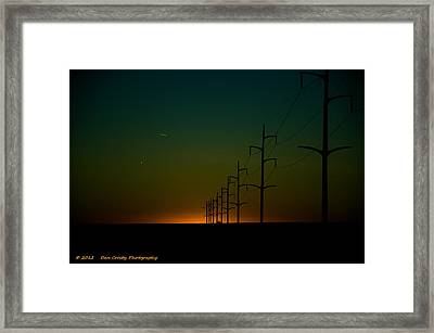 You Only Live Once Framed Print by Dan Crosby