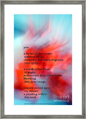 You Framed Print by Richard Donin
