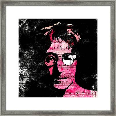 You Say I Am A Dreamer Framed Print by Steve K