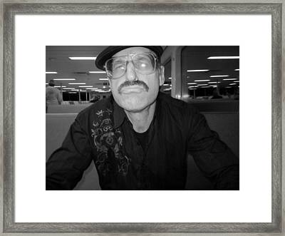 You Taulking To Me Framed Print by Kym Backland
