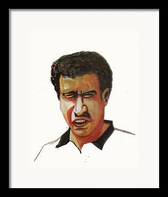 Younes El Aynaoui Framed Prints