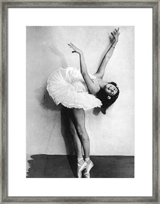 Young Ballerina Framed Print by Fpg
