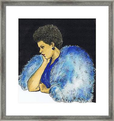 Young Billie Holiday Framed Print