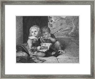 Young Boys, C1795 Framed Print