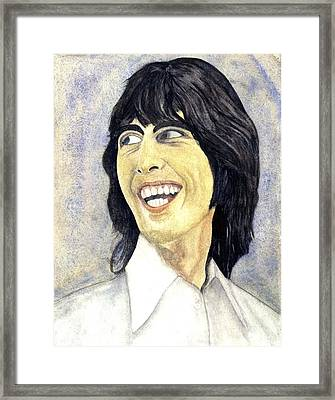 Young George Framed Print by Michael Rowley