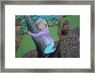 Young Girl In Summer Framed Print