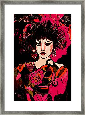 Young Lady Framed Print