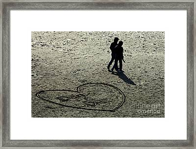 Young Love Framed Print by Bob Christopher