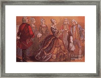 Young Samuel Johnson Receives The Royal Framed Print