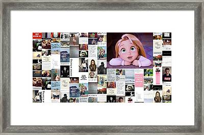 Your Eyes Are Pretty Framed Print by Holley Jacobs