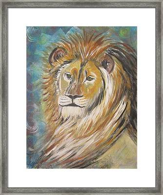 Your Majesty Framed Print by Julia Rita Theriault