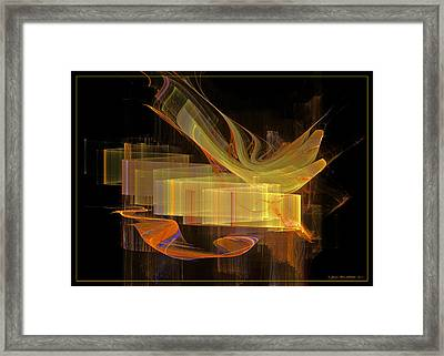 You've Got A Message Framed Print by Sipo Liimatainen