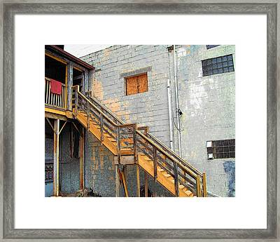 Framed Print featuring the photograph Ypsi Loft by MJ Olsen