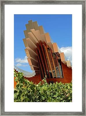 Ysios Winery Spain Framed Print by John Stuart Webbstock