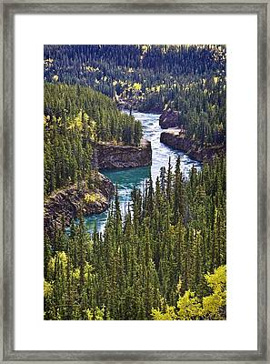 Yukon Territory, Canada Framed Print by Richard Wear