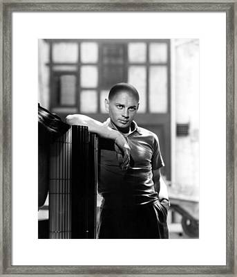 Yul Brynner, 1957 Framed Print