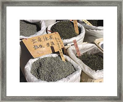 Yunnan Green Tea Framed Print by Bjorn Svensson