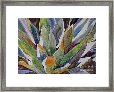 Yupo - Agave Framed Print