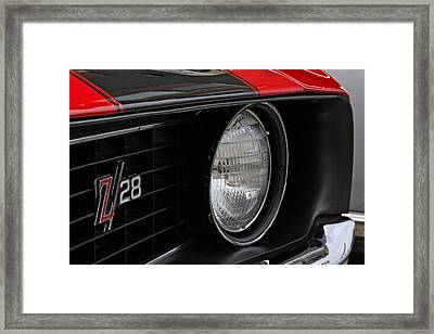 Z28 Framed Print by Chuck Zacharias