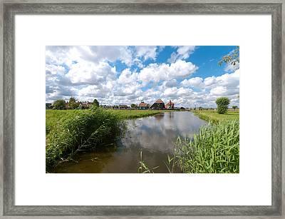 Zaanse Schans Framed Print by Hans Engbers