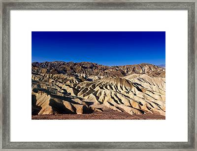 Zabriskie Point No.1 Framed Print