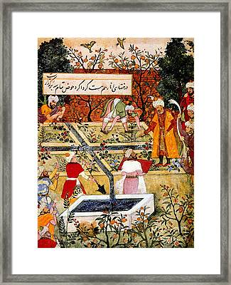 Zahir-ud-din Muhammad Babur, First Framed Print by Photo Researchers