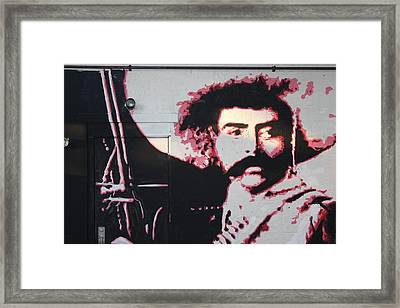 Zapata Framed Print by Dustin Spagnola