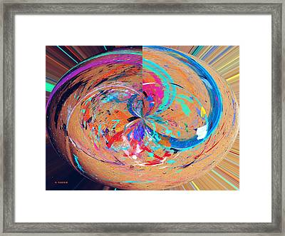 Zapperatus Framed Print by Charles Yates
