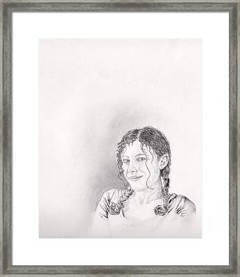 Zareen Framed Print